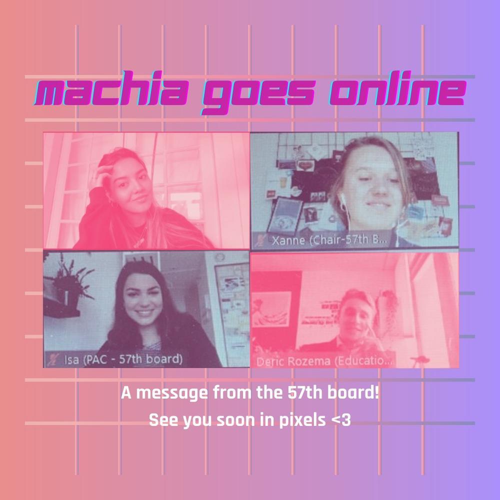 Machia goes online