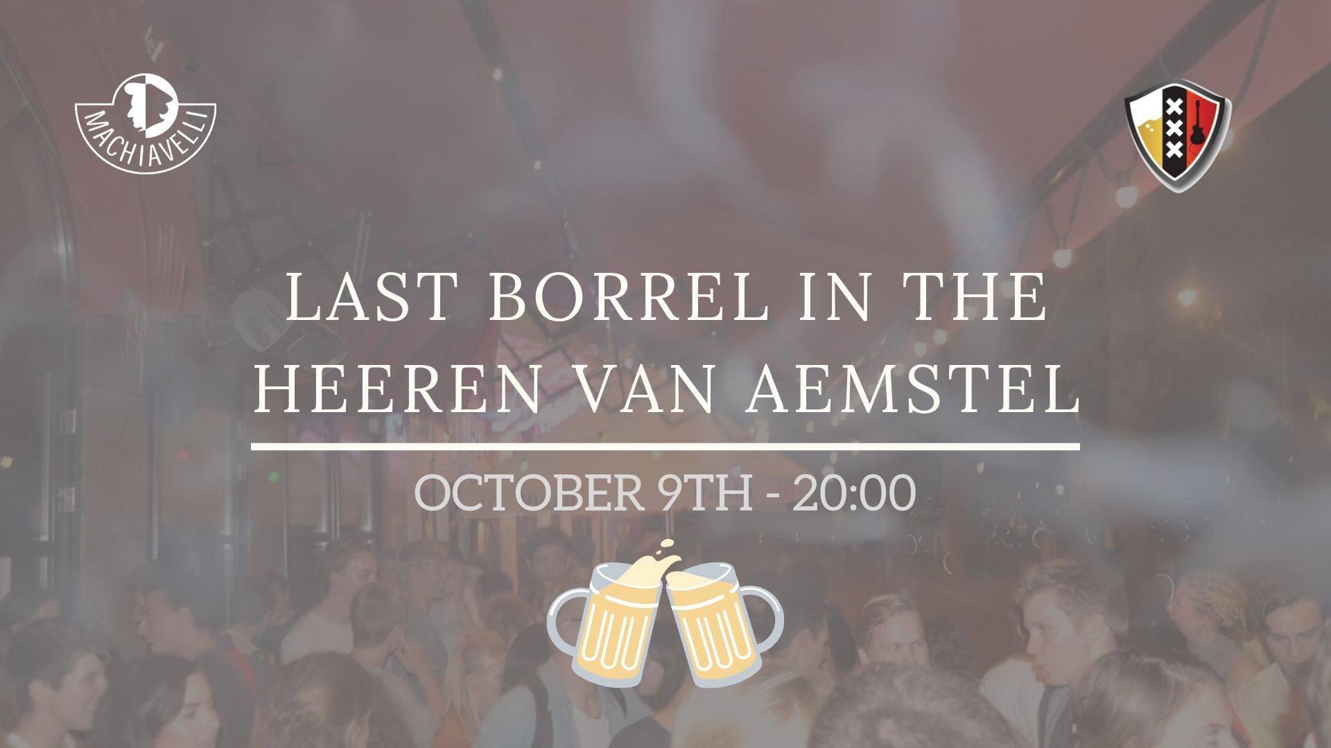Last Borrel in de Heeren van Aemstel