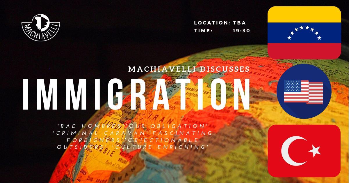 Machiavelli Discusses Immigration: Three Cases