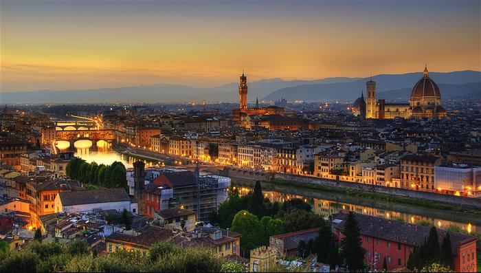 Tuscany + Uffizi