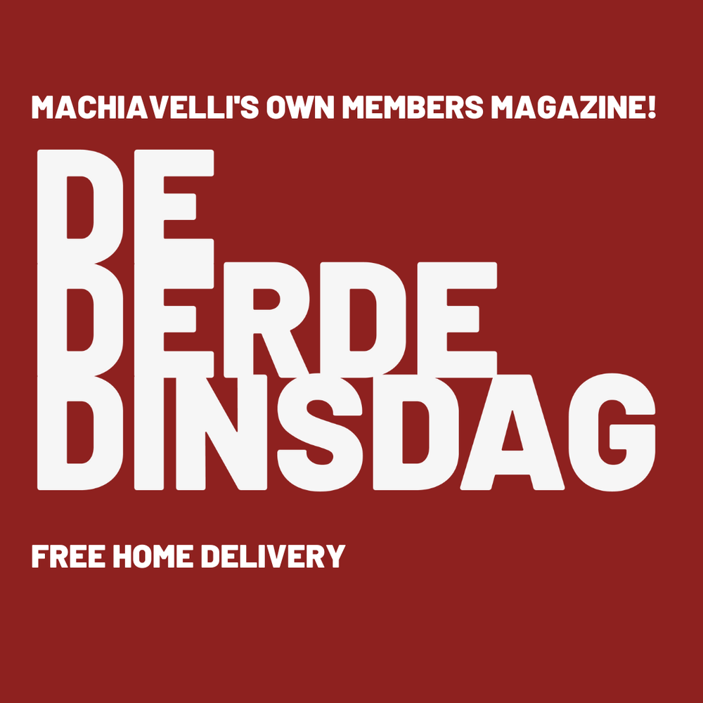 Free subscription home delivery De Derde Dinsdag, our members' magazine
