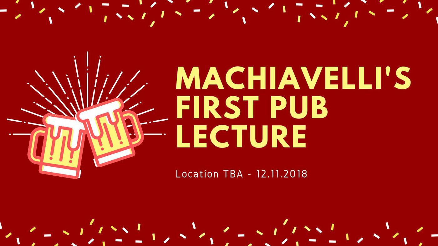 Machiavelli's First Publecture