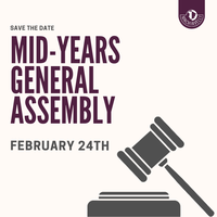 Mid-Years General Assembly: February 24th
