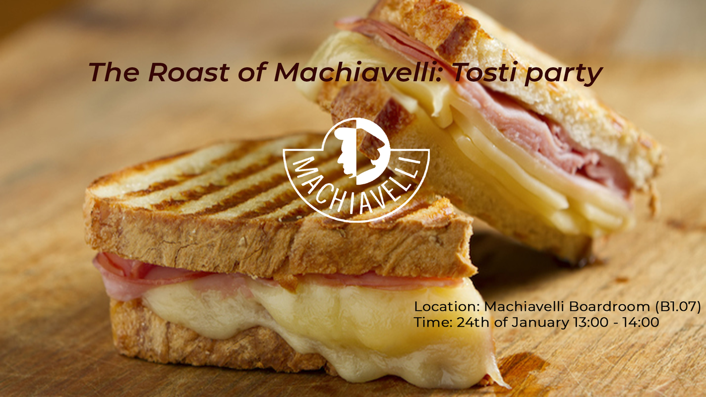 The Roast of Machiavelli: Tosti party