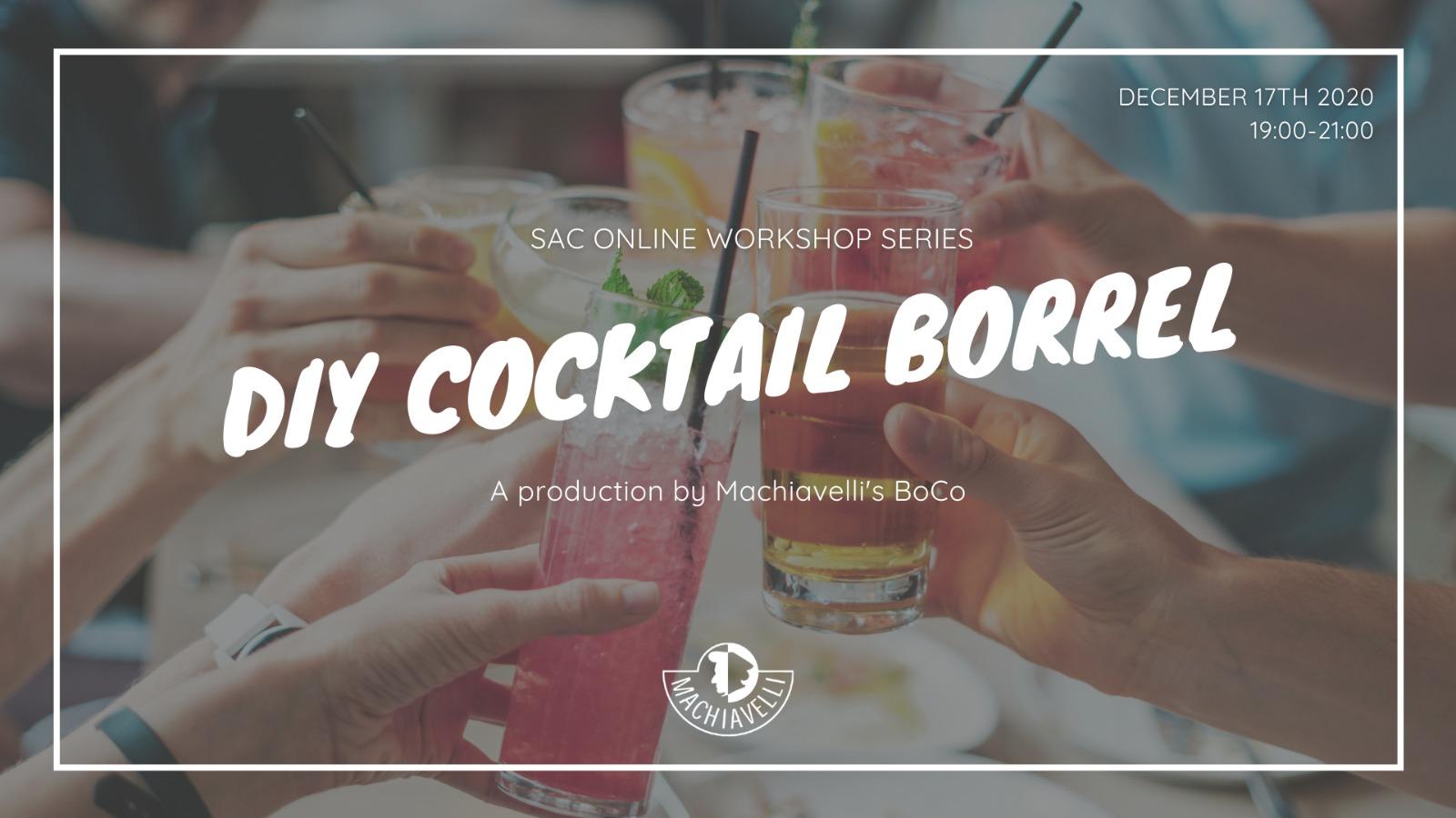 Cocktail Workshop Borrel