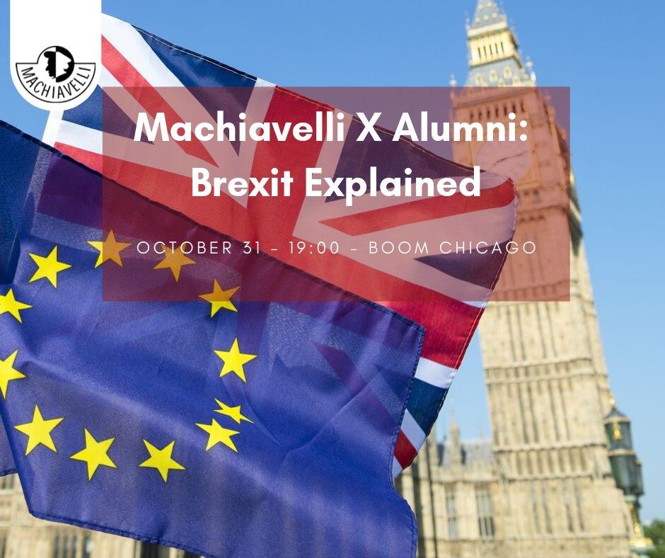 Alumni x Machiavelli: Brexit explained