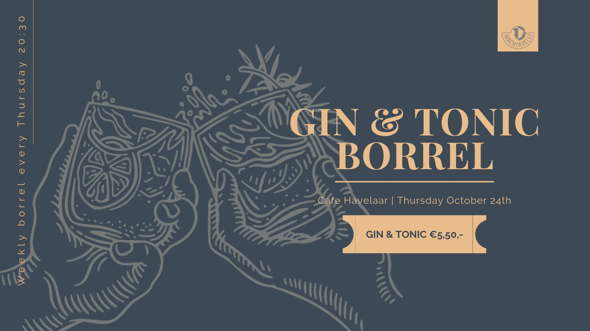 Gin & Tonic Borrel