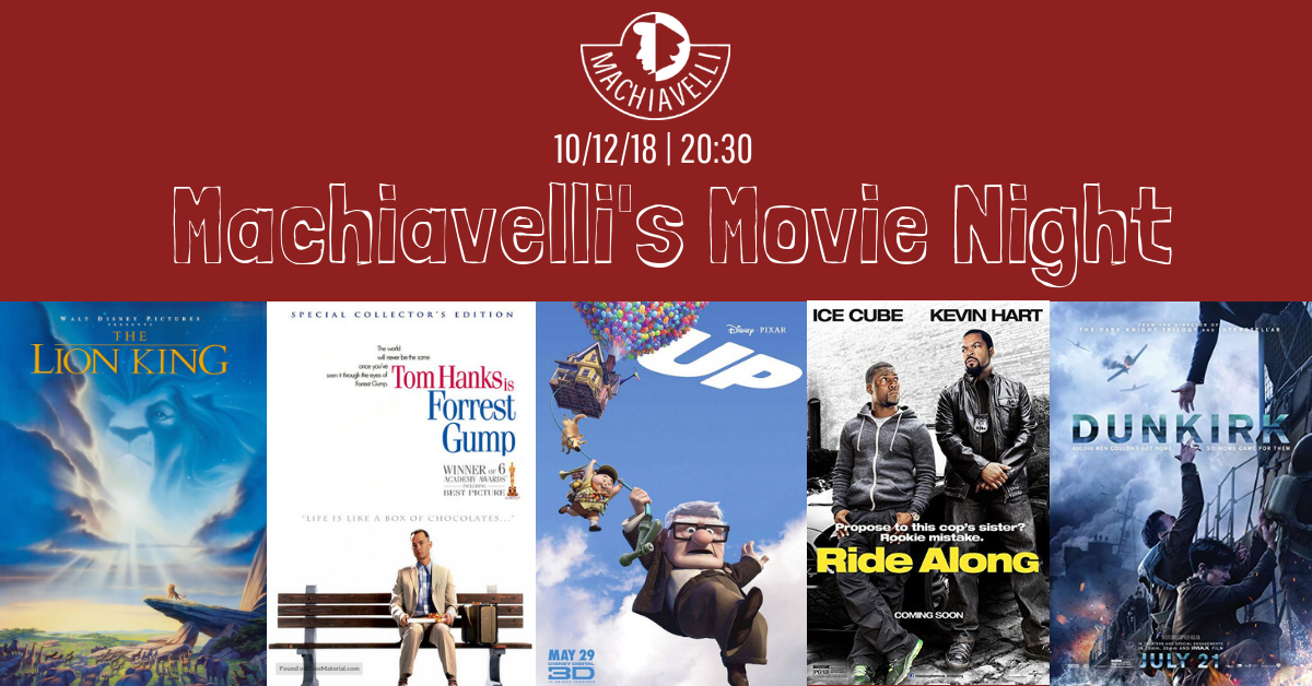 Machiavelli's Movie Night