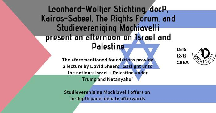 Machiavelli Presents: An Afternoon on Israel and Palestine