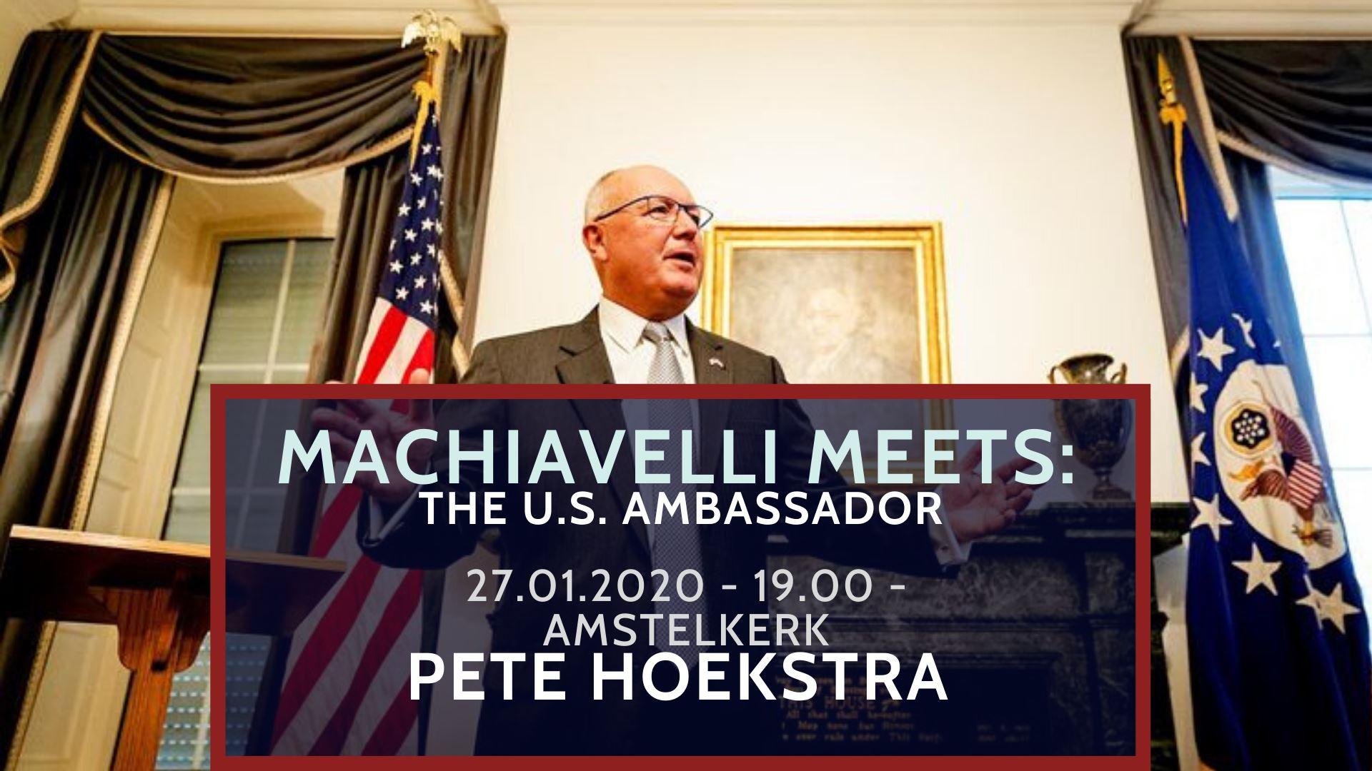 Machiavelli Meets: Pete Hoekstra