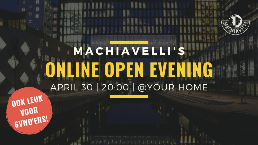 Online Open Evening