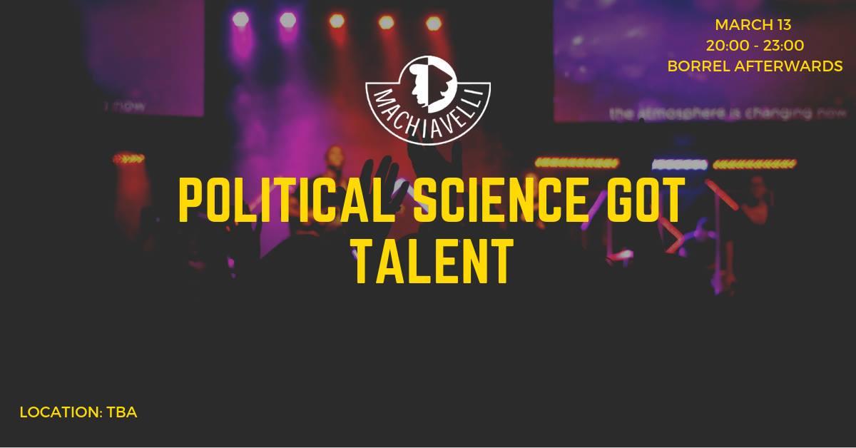 Political Science Got Talent