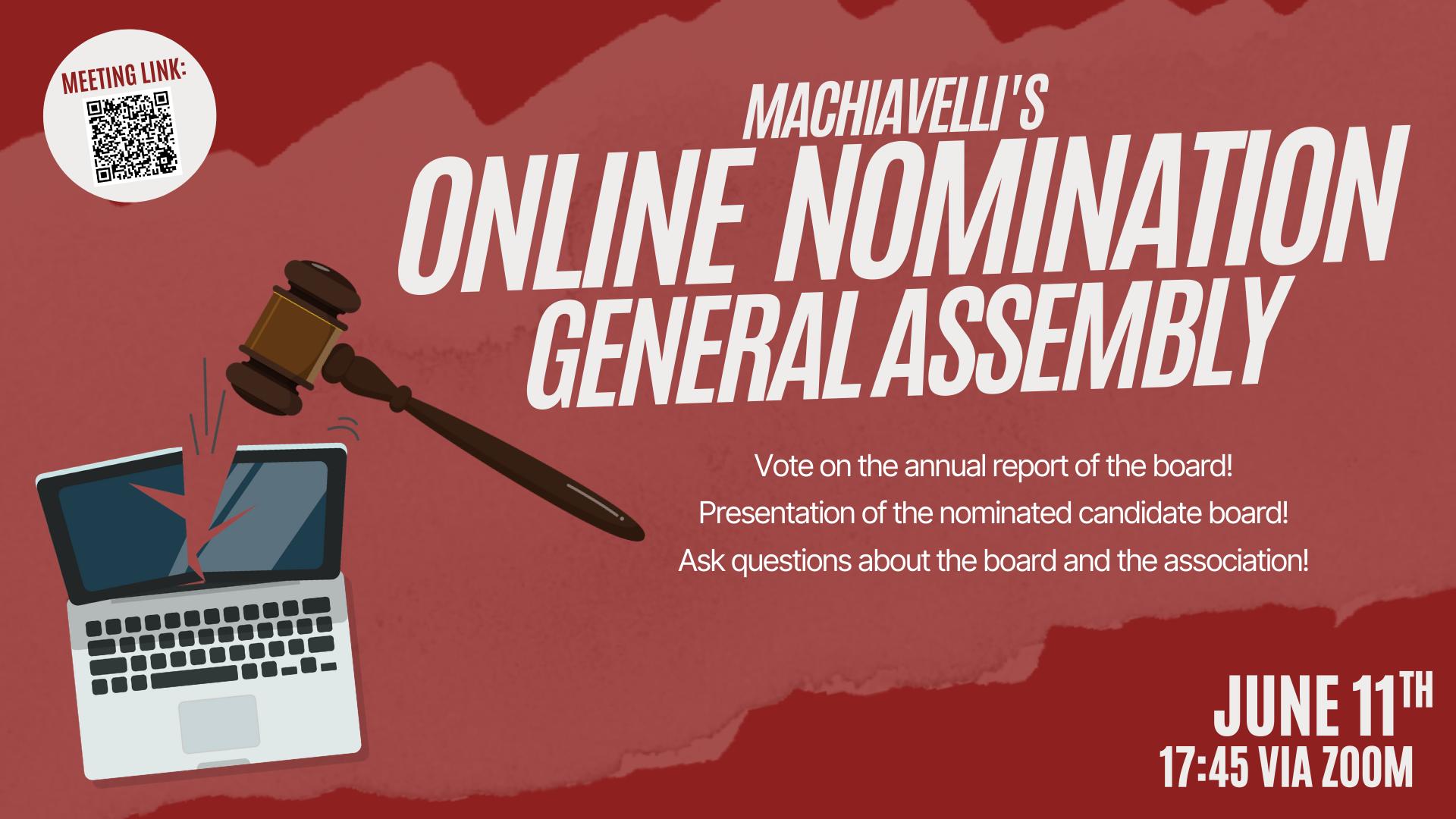 Online Nomination General Assembly