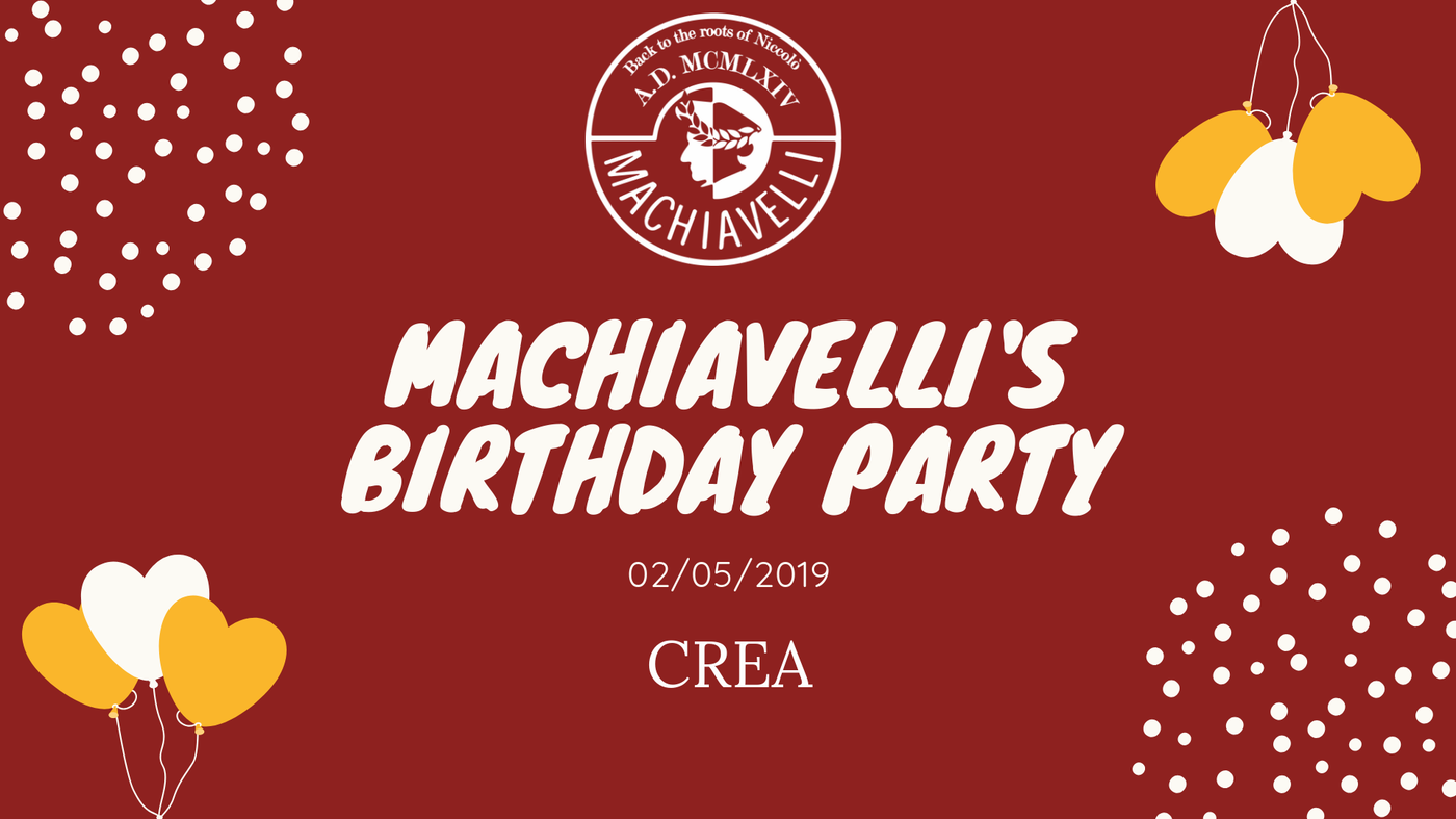 Machiavelli's Birthday Party
