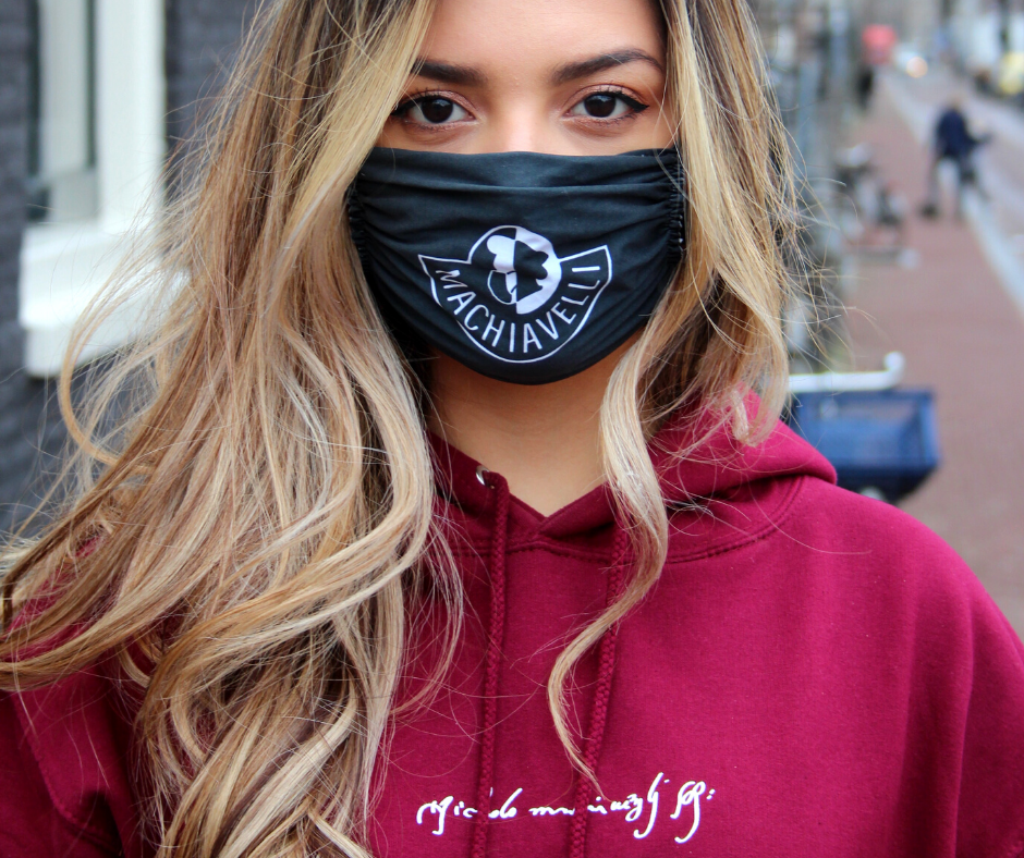 Face Mask + Hoodie (delivery in NL)