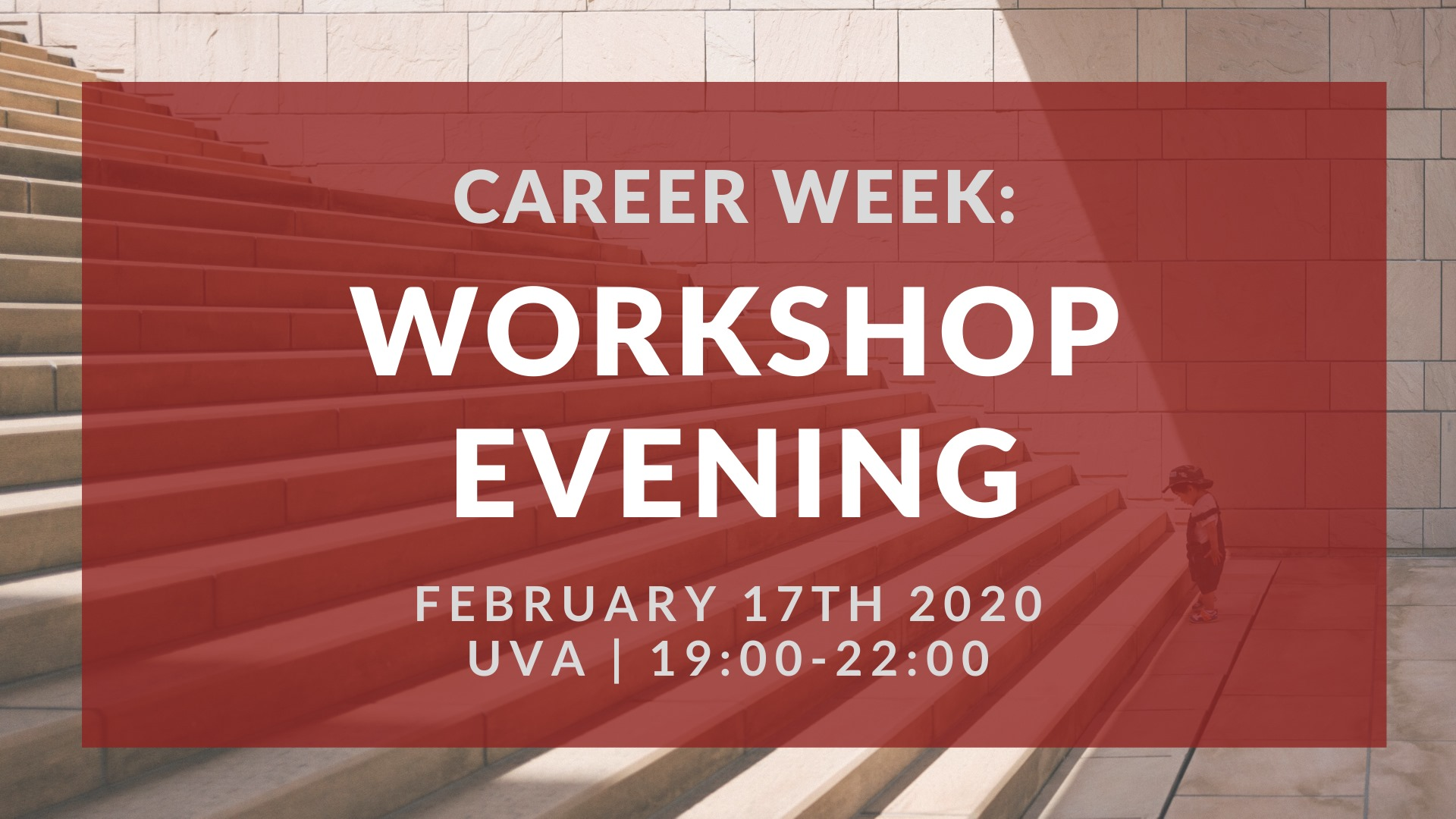 Career Week: Workshop Evening