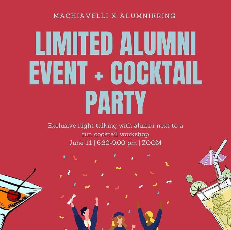 Alumni Event + Cocktail workshop