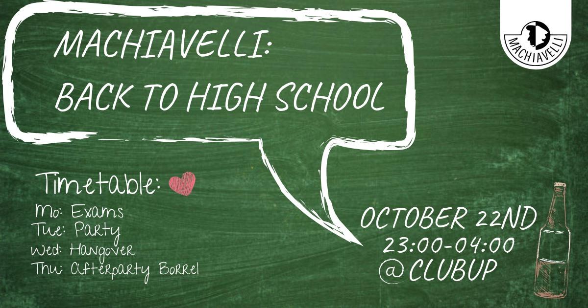 Machiavelli: Back to High School
