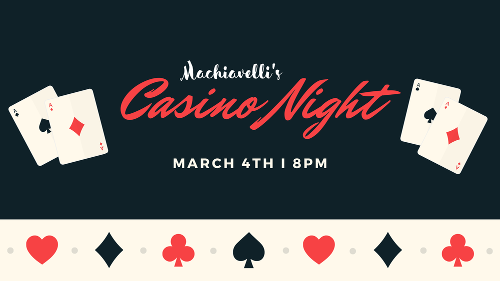 Machiavelli's Casino Night