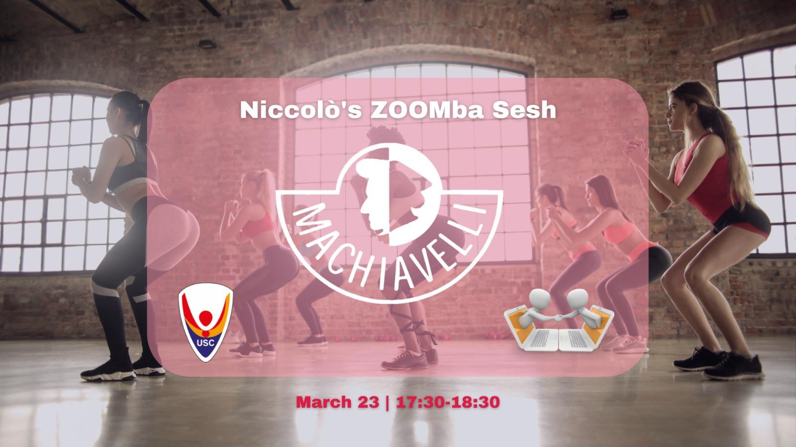 Niccolò's ZOOMba sesh