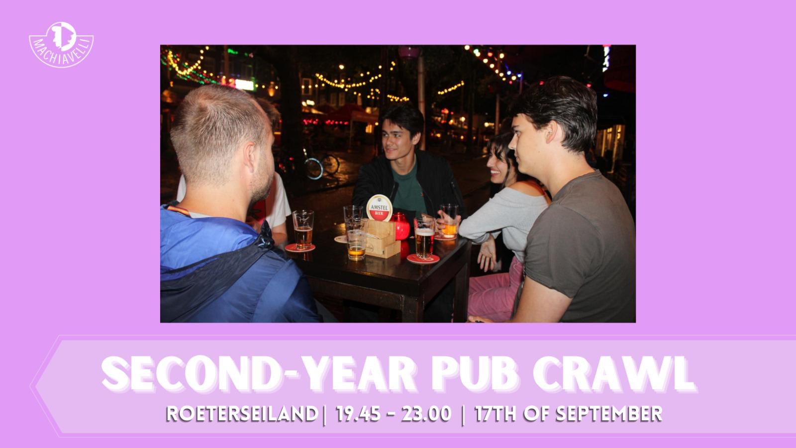 Second-year Pub Crawl