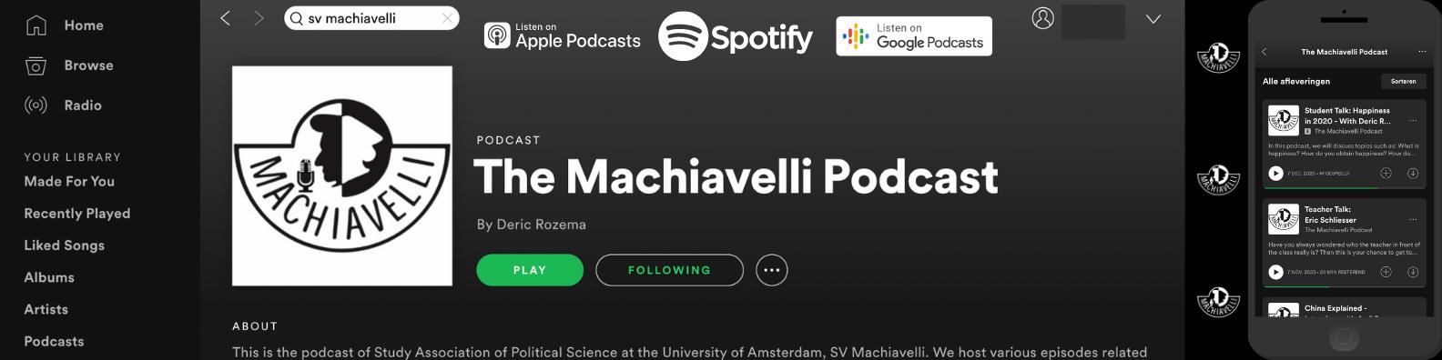 The Machiavelli Podcast